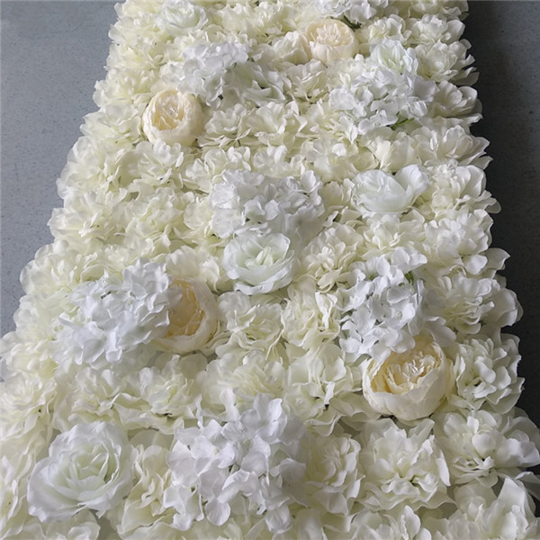 New Design Roll Up Flower Wall Wedding Flower Backdrop for Wedding Decoration