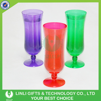 2016 Popular Night Club Party Decoration Plastic Beer Drinking Glass For Promotion
