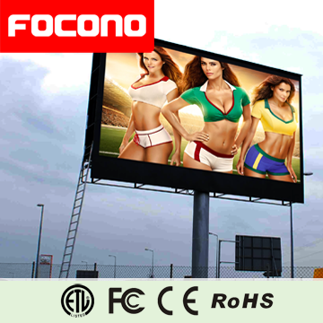 outdoor 10mm video function super thin full color high brightness biggest led screen
