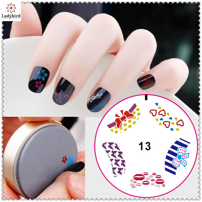 Ladybird Nail Art Tool New Arrival W Series Plate Disc Stamping Diy ...