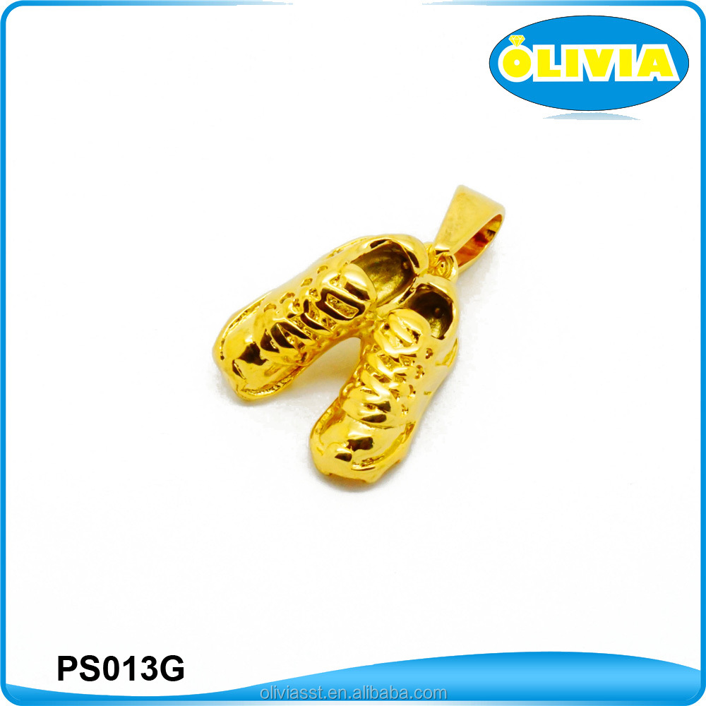 Olivia Wholesale Running Shoes Charms Hollow Shoes Pendant Runner Player Gift