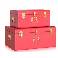 best selling functional colorful metal storage trunk