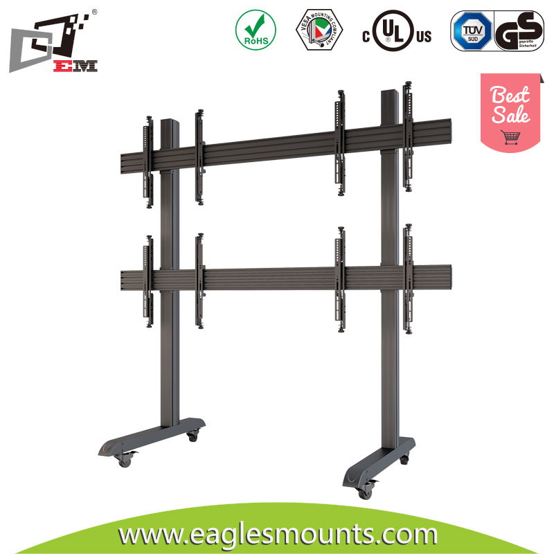 High Quality Quad Screen Mobile Outdoor TV Mount For Sale