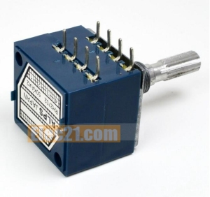 ALPS RH2702 step-index 50K 100K double potentiometer 27type Potentiometer