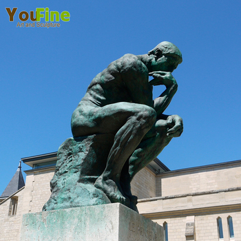 education park bronze sculpture the thinker statue buy the thinker