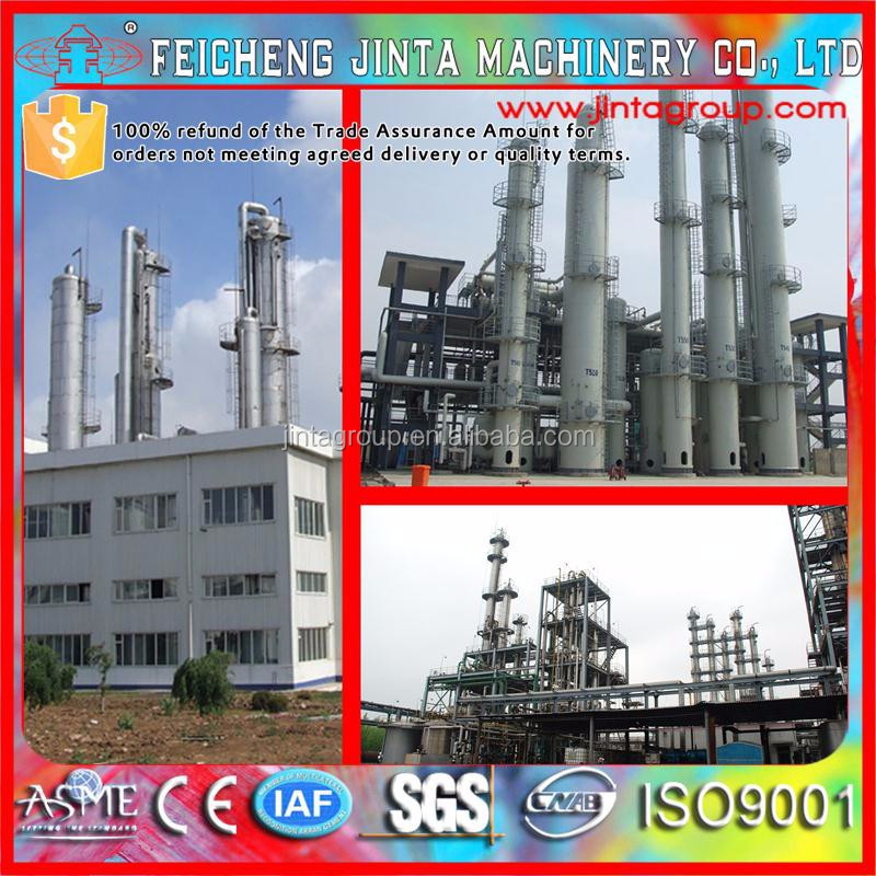 Hydrogen peroxide Processing Machinery 95%-99.9%, Hydrogen peroxide production line, ethanol production plant