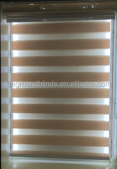 Inexpensive Popular Style zebra roller blinds for window