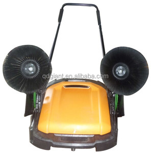 cleaning equipment and names plastic material road sweeper