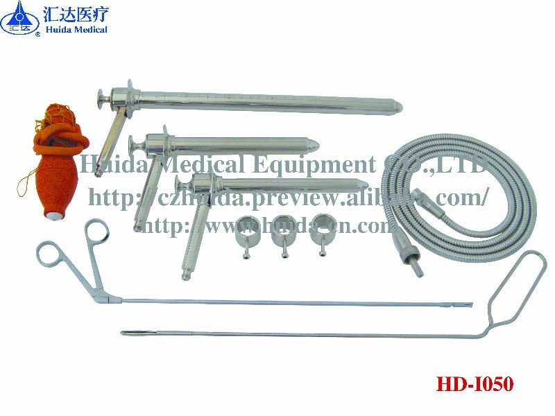 medical instruments/ Sigmoid proctoscope/ surgical instruments