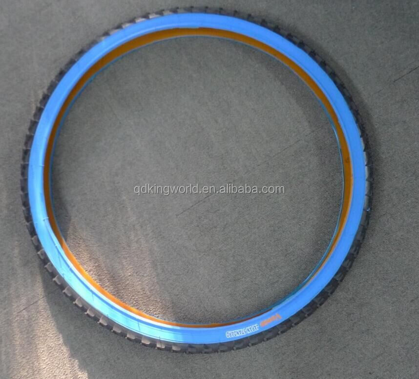 Bike Tire 14 Inch 14x1.75 14x1.95 ,22 Inch Bike Tire Blue Wall