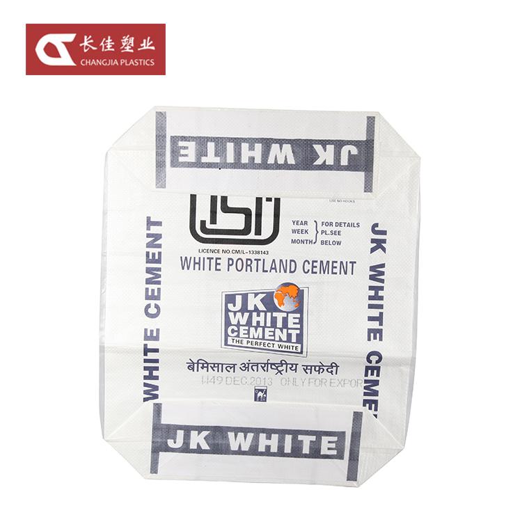 Compra Da China 50Kg Tecido PP Saco de Embalagem Válvula De Cimento