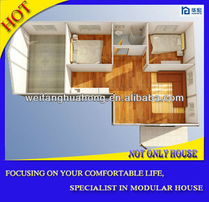 Durable sip panels prefabric house]