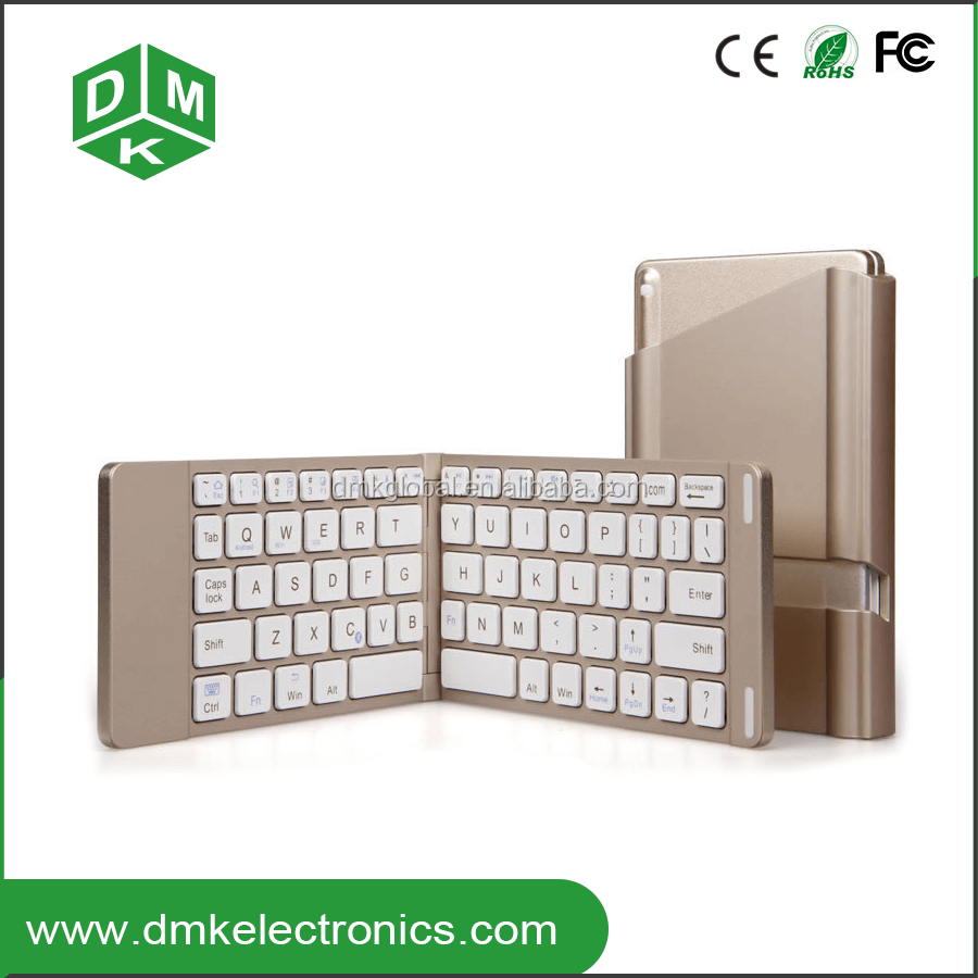 bluetooth keyboard with touchpad mouse foldable keyboard for laptop