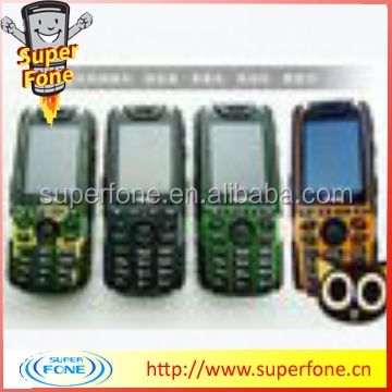 Best waterproof cell phones MTK6260A X7 support the largest 32GB with FM and MP3