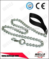 high quality galvanized dog chain with snap hook