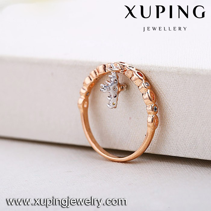 Wholesale unique design gold jewellery cross rings