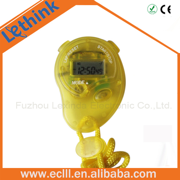 Plastic Cute mini electric stopwatch for kids