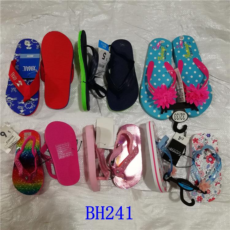 stock lot shoes flip flops child sandal custom flip flops wholesale kids EVA slippers
