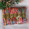 2017 New Arrive 2mm 20M Per Sheaf Bright Silk Red Color Chinese Knot Cord Rattail Satin Braided Cord For DIY Necklace Handcraft