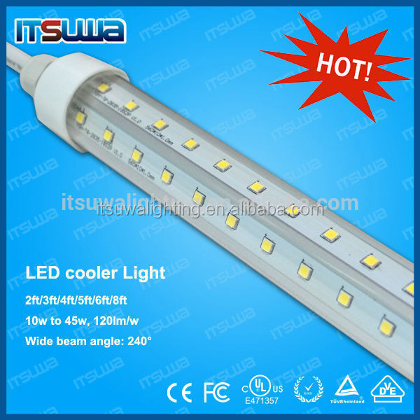 4ft Led Tube T8 Led Cooler Light,V Shape 5ft 6 Foot Cooler Door ...