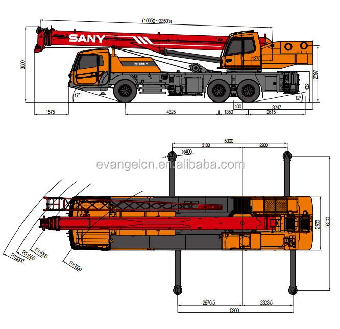 Mobile Crane Dubai : Sany truck crane stc ton dubai mobile buy