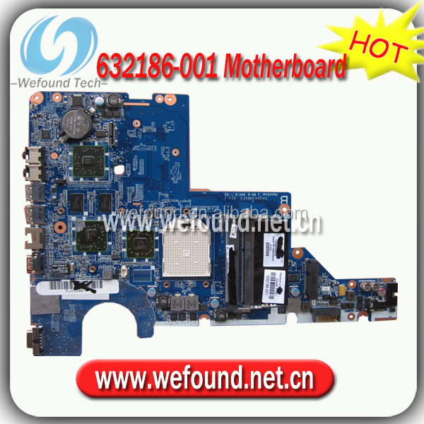 Hot! laptop motherboard mainboard 632186-001 for HP CQ42 CQ56 G42 CQ62 G62 AMD