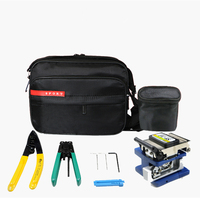 Ftth Fiber Optic Tool Kit With Fiber Cleaver Miller Cramper And FTTH Stripper