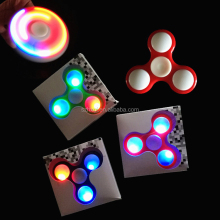 LED Colorful Hand Spinner Fidget Spinner toy Hand Fidget Spin Toy