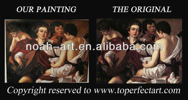 Musicians museum quality oil paintings of Caravaggio