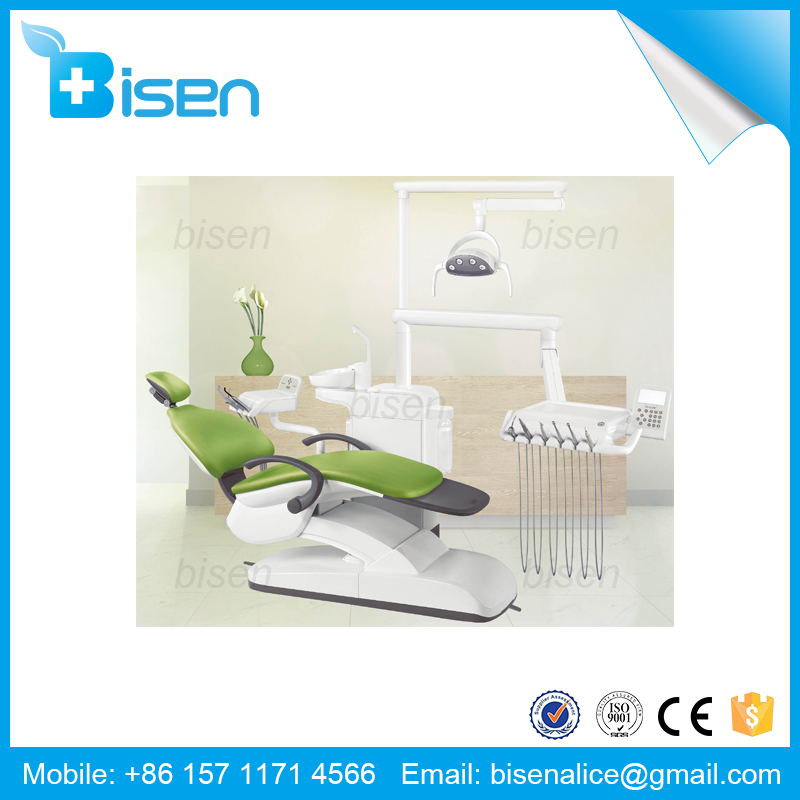 BS-D560 Cozy Comfort Noiseless Dentist Treatment CE Approved Integral Dental Chair Unit