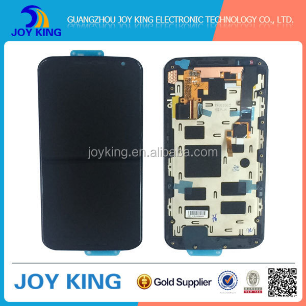 Brand new oem original for motorola moto x (2nd Gen) xt1097 xt1096 lcd screen with touch Digitizer and frame
