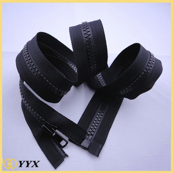 Wholesale price open end custom no 10 plastic zipper