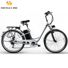 Suncycle chinese city electric bike 2017 for ladies with zoom electric bicycle parts