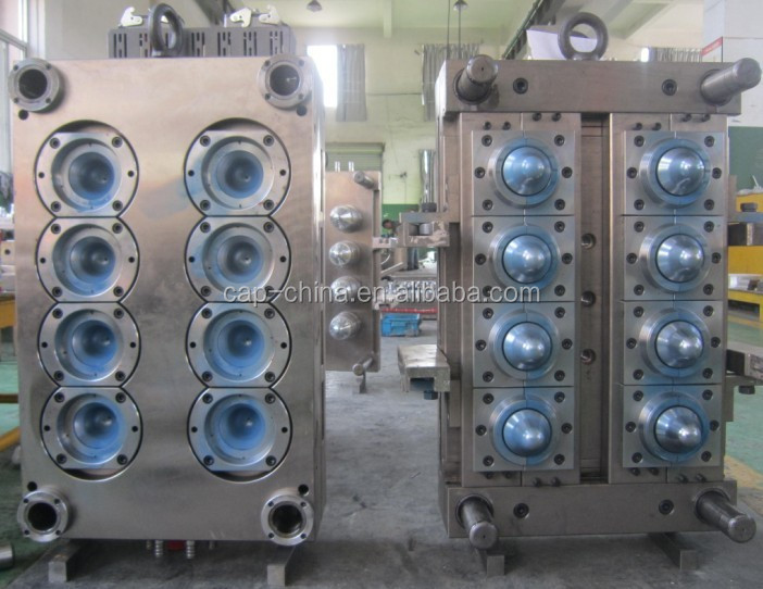 8 Cavity Bigger Neck PET Preform Injection Mould Pet Preform <strong>Mold</strong>