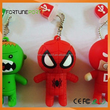 Custom Superhero Superman Usb Flash Drive Hottest Items 3D USB Pendrives with Corporate Logo