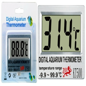 Digital submersible fish tank aquarium LCD thermometer Wholesale electronic thermometer for aquarium measuring