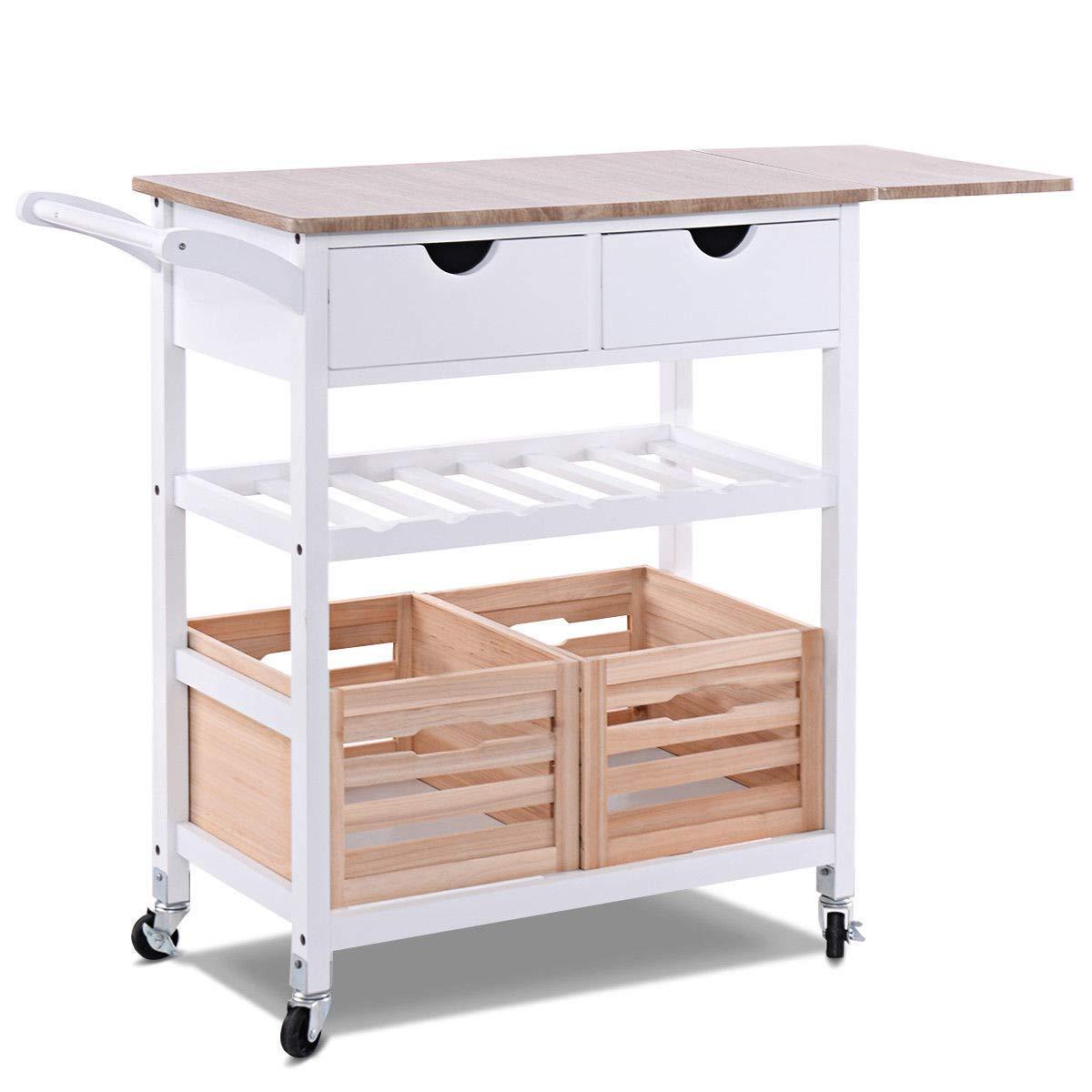 Kitchen Cart Wine Rack Find
