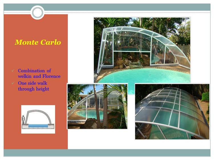Diy assemble low profile pool enclosure buy low profile for Pool enclosure design software