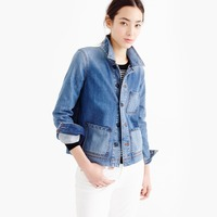 Wholesale pockets denim coats and jeans jackets for women