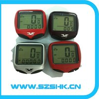 water proof digital odometer wireless bicycle computer,wireless bike computer,motorcycle speedometer