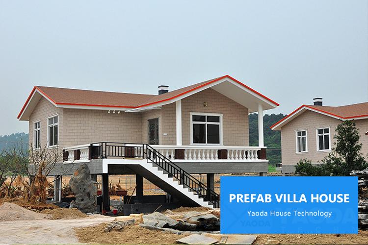 Небольшой дом, легкая стальная конструкция, сборная Бетонная панель, вилла, дом, сборный пляжный домик, легкий стальной каркас, вилла, дом