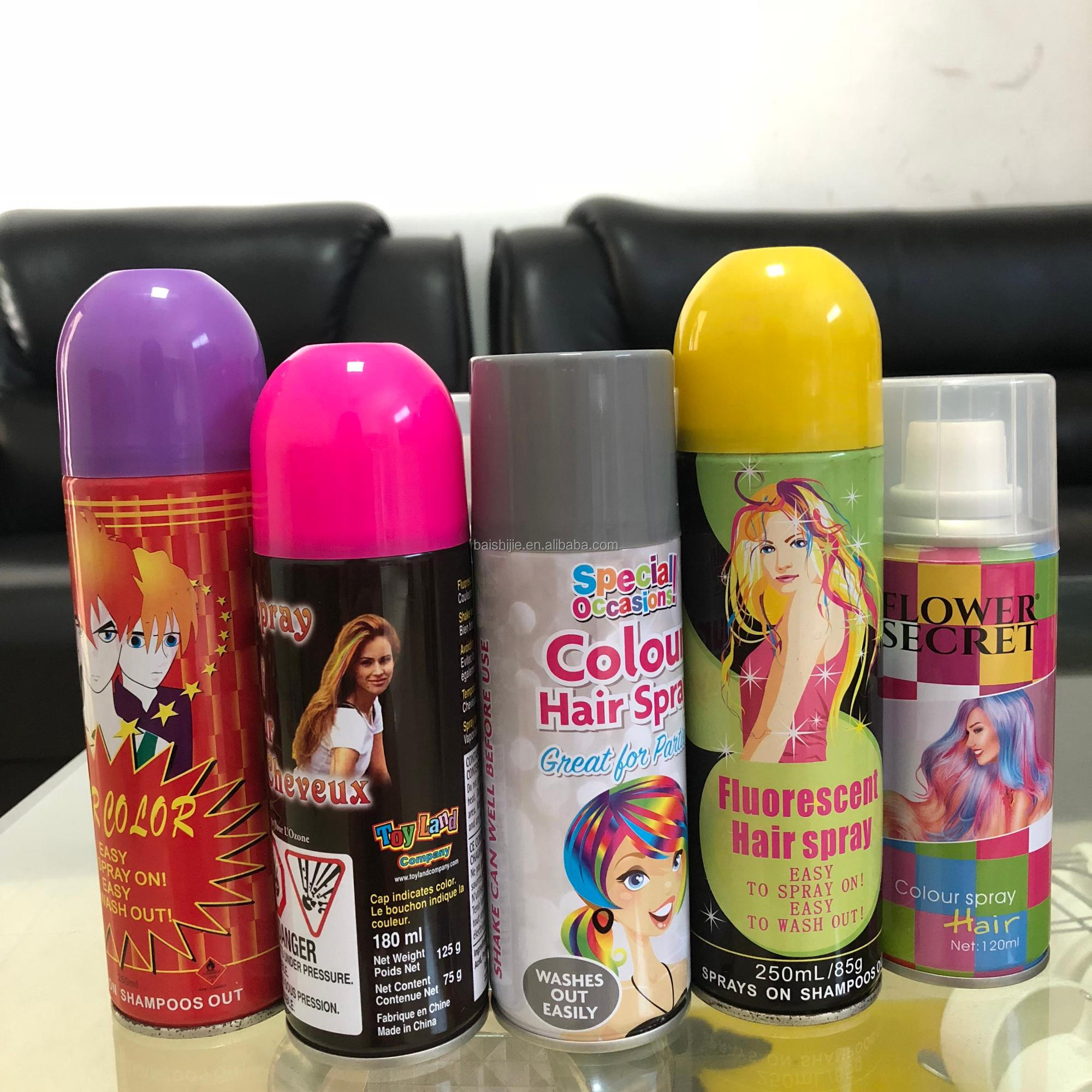 Hair Color Spray Names Hair Colors