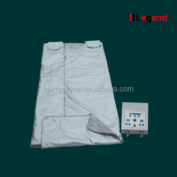 Portable 1 years warranty FIR Far Infrared Sauna Slimming Blanket for Weight Loss home or salon