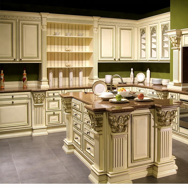 Fine High Quality Classic Solid Wood White Kitchen Cabinets Buy White Kitchen Cabinets Solid Wood Kitchen Cabinets Classic Kitchen Cabinets Product On Beutiful Home Inspiration Ommitmahrainfo