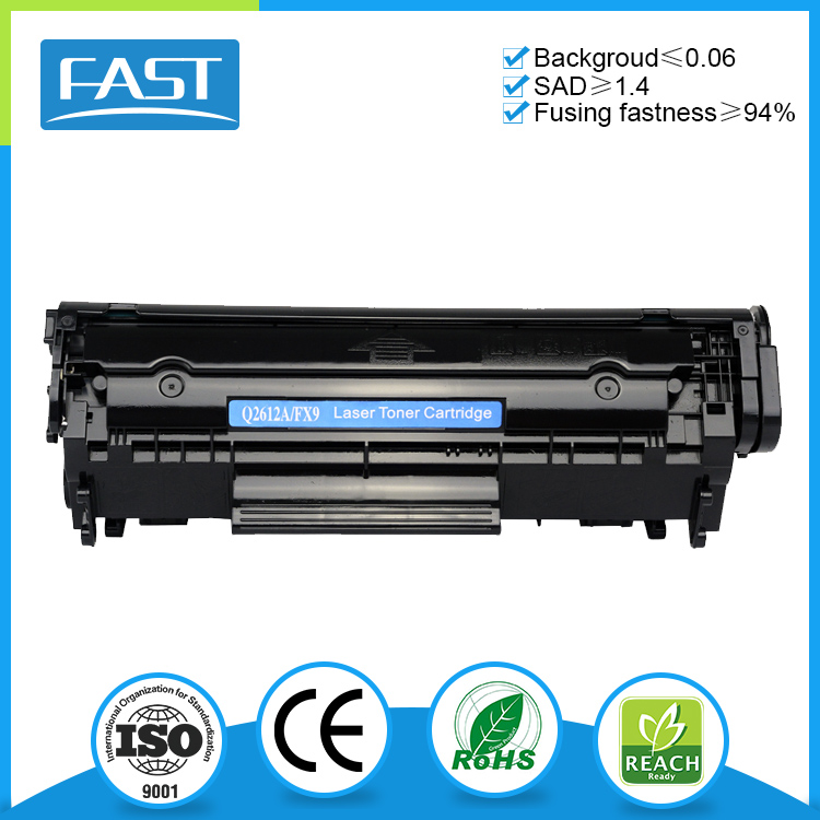 Fast Image Q2612A Toner Cartridge for HP LaserJet 1010 1012 1015
