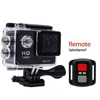2017 Factory cheapest Full HD 1080P WIFI action camera 2.0 inch LCD Waterproof Remote Control sports action camera