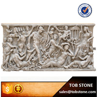 2015 Classical Natural Stone Hand Carving Men And Women Wall ...