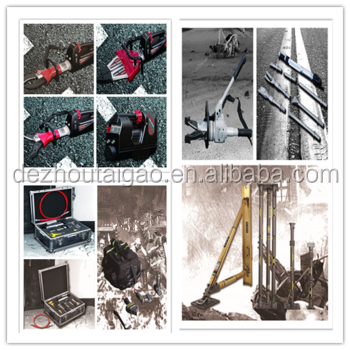 High quality portable hydraulic relief tool sling and cutting tools in China