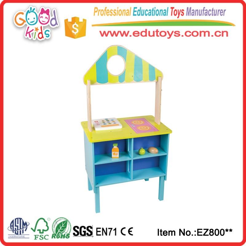 Kualitas Tinggi Ukuran Besar Kayu Pendidikan Anak Kitchen Set Mainan