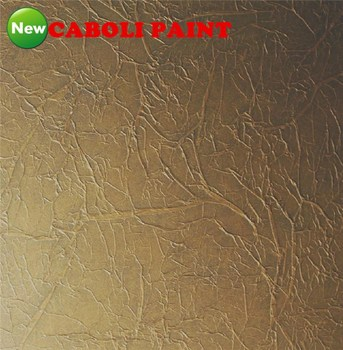 Caboli Interior Wall Pillar Shining Gold Art Texture Paint Product